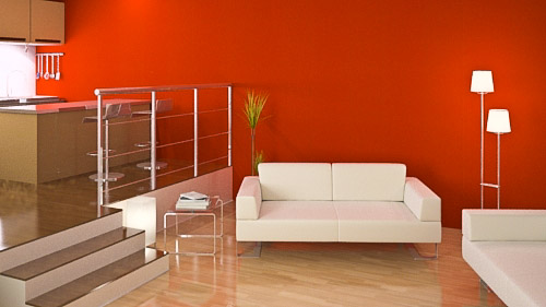design : wohnzimmer orange braun ~ inspirierende bilder von ... - Wohnzimmer Rot Orange