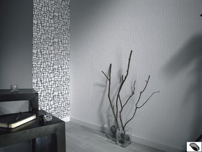 und fertigen tapete black - Tapete Modern