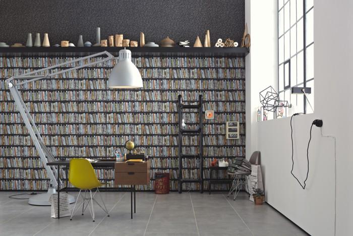 Papeles pintados modernos sch ner wohnen ii imagenes for Papeles pintados modernos pared