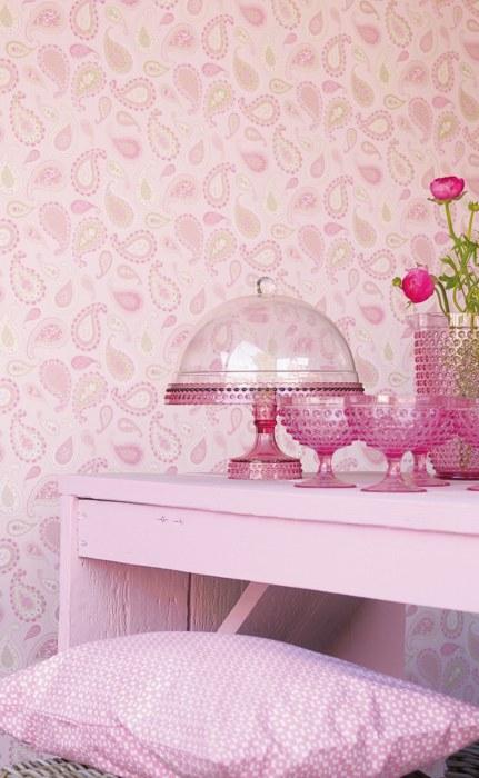 Romantische Tapeten Petite Fleur : Belle Rose