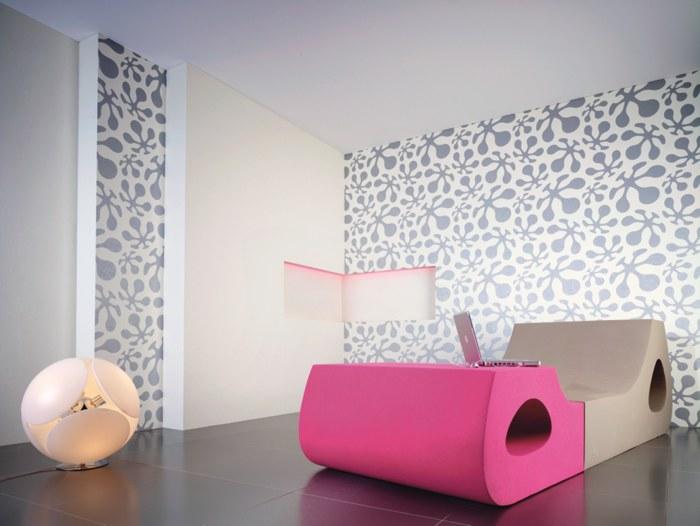 g67hh contzen tapete le pop grau. Black Bedroom Furniture Sets. Home Design Ideas