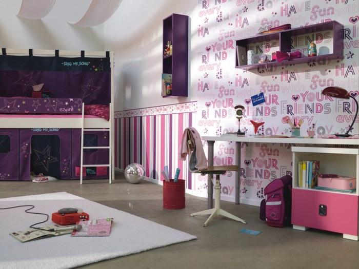 children wallpapers esprit kids iii room settings sing my song wallpaper photo murals. Black Bedroom Furniture Sets. Home Design Ideas