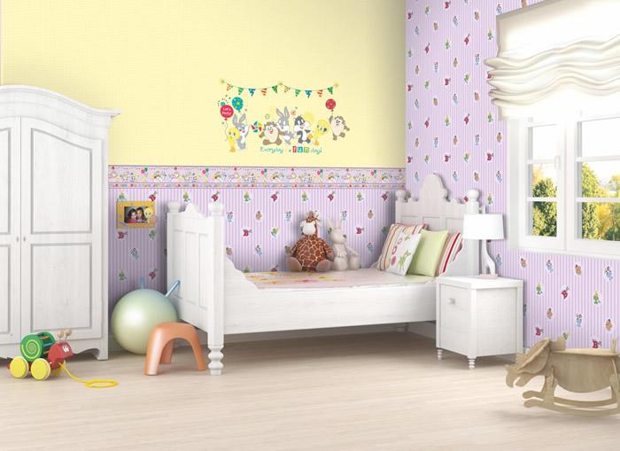 Carta da parati bambini idea creativa della casa e dell for Parati tridimensionali