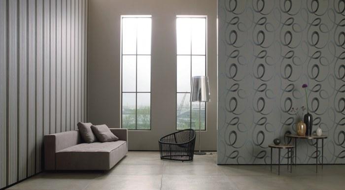 metallic wallpaper modern. modern wallpapers / Gin Fizz