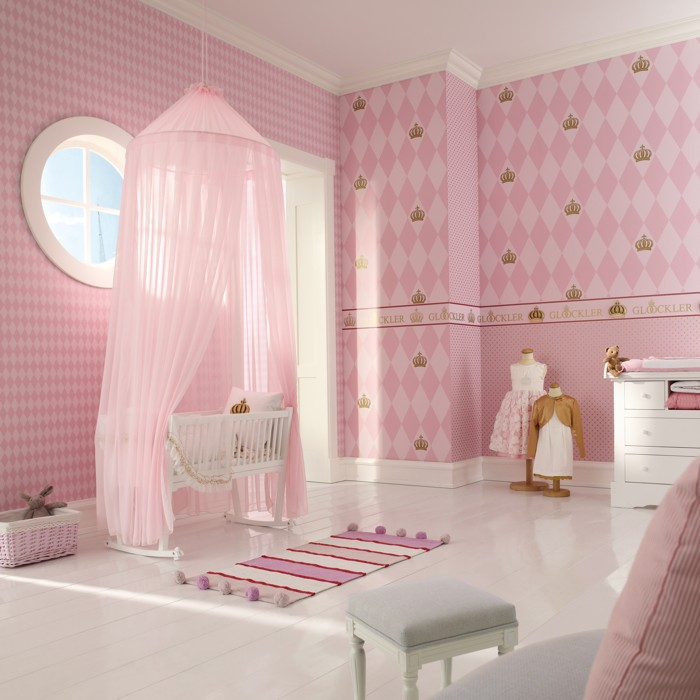 papiers peints enfants harald gl ckler for kids images de chambres princess paradise. Black Bedroom Furniture Sets. Home Design Ideas