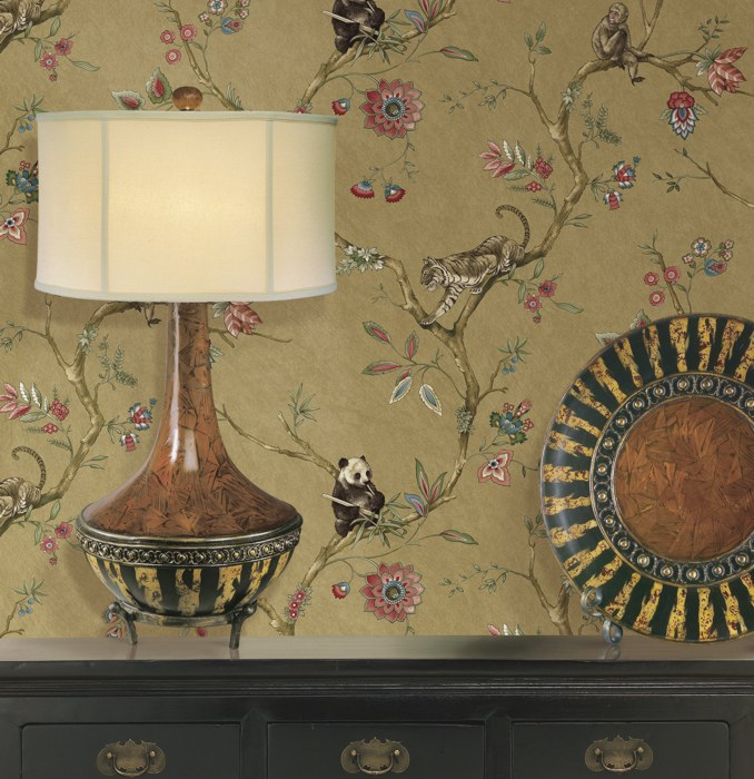 Romantische Tapete Petite Fleur : Romantische Tapeten ? Grand Estates ? Raumbilder ? Far East Dreams