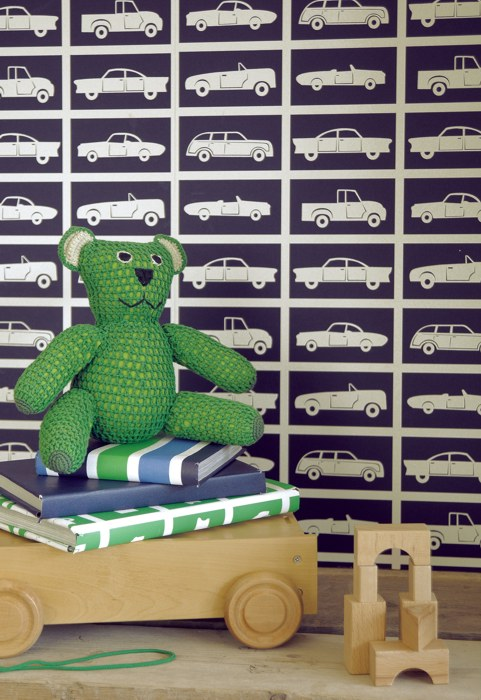 Kindertapeten Raumbilder : Car Showroom