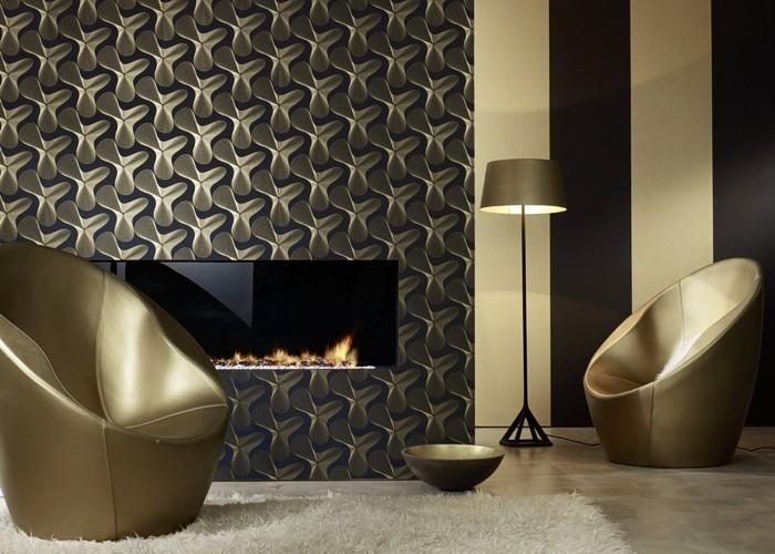 papiers peints de designer karim rashid images de chambres frise chronologique wallpaper. Black Bedroom Furniture Sets. Home Design Ideas