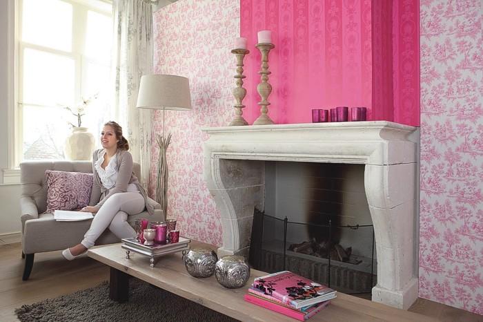 Papiers peints de romantique amour images de chambres for Papier peint chambre romantique