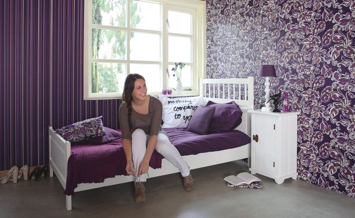 Papiers peints de romantique amour images de chambres romantique wallpaper photo murals - Tapeten fur jugendzimmer ...