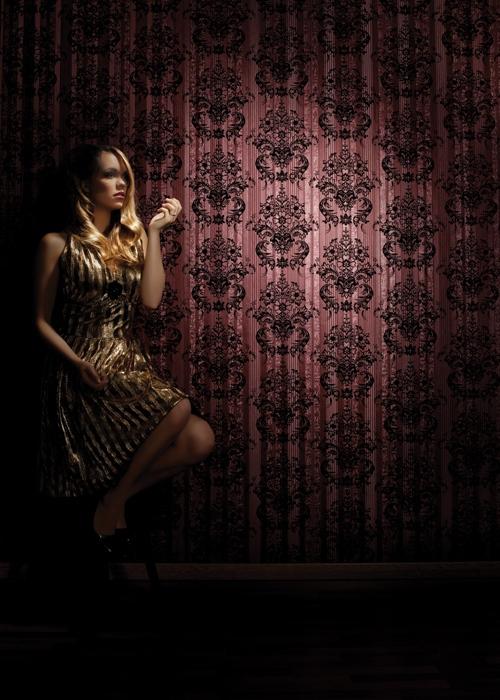 Elegante tapeten wall silk raumbilder orient for Elegante tapeten