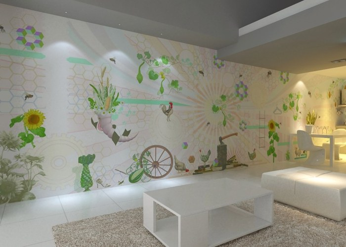 Papeles pintados creativos thomas zeitlberger imagenes - Papeles pintados paisajes ...