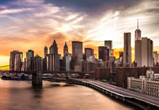 photo mural no. 3104 - Manhattan Sunset