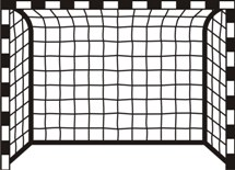 walltattoo no. 8080 - football goal