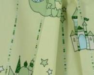 Esprit Kids no. 110 - furnishing fabric Dragon Castle verde