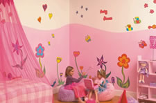 wallsticker no. 113 - world of flowers