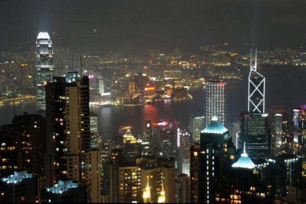 Fototapete Nr. 4474 - Hongkong Peak View