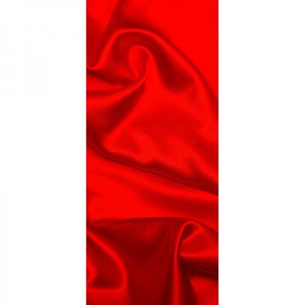 Türtapete Nr. 3282 - Samt & Seide in rot