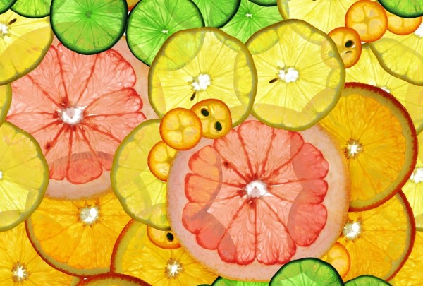 Fototapete Nr. 3089 - Citrus slices