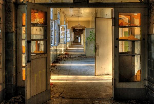 Fototapete Nr. 4196 - Villa Antique - Korridor