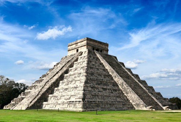 Fototapete Nr. 3321 - Maya Pyramide in Chichen-Itza, Mexico