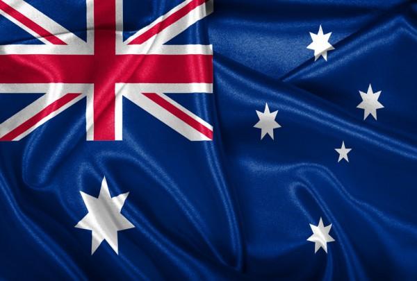 Fototapete Nr. 3166 - Flagge Australien
