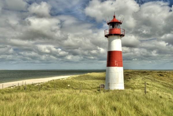 Fototapete Nr. 3649 - Leuchtturm Sylt