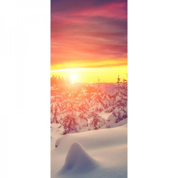 Türtapete Nr. 3025 - Winterwunderland