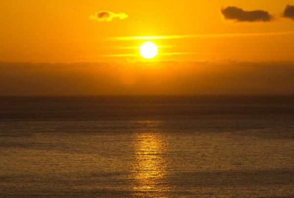 Fototapete Nr. 3843 - La Gomera Sunset