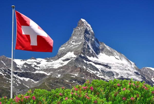 Fototapete Nr. 3526 - Swiss Matterhorn