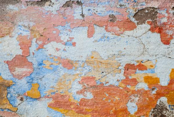 Fototapete Nr. 3477 - Historischer Kalk-Zement-Putz I