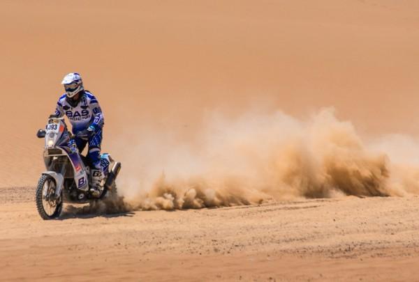 Fototapete Nr. 3558 - Desert Bike