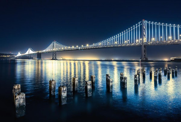 Fototapete Nr. 3102 - San Francisco Bay Bridge I