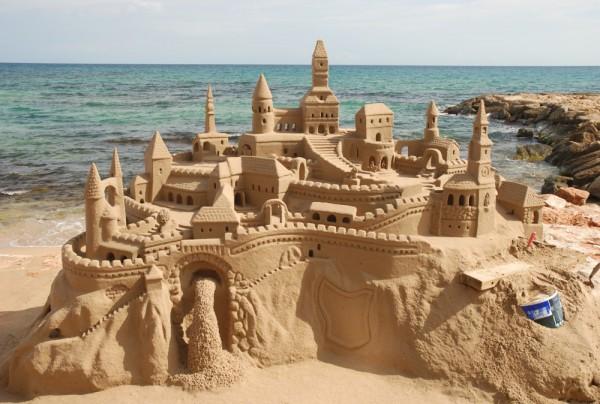 Fototapete Nr. 3794 - Sand castle