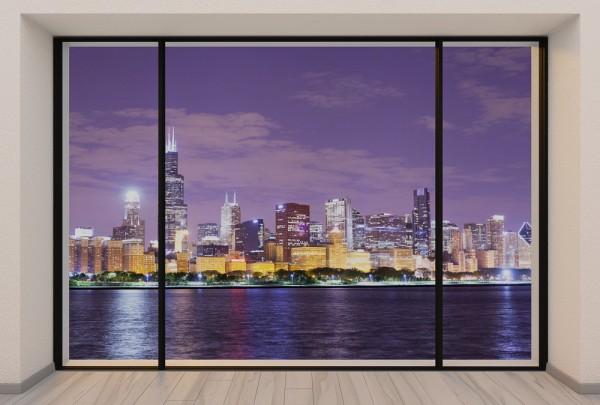 Fototapete Nr. 3710 - Penthouse Chicago