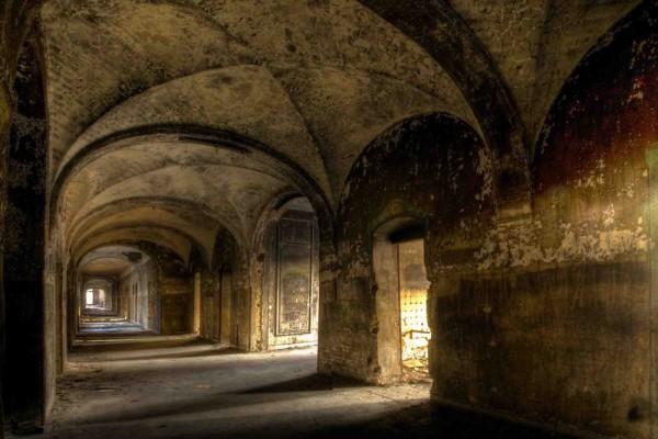 Fototapete Nr. 4198 - Villa Antique - Gewölbe