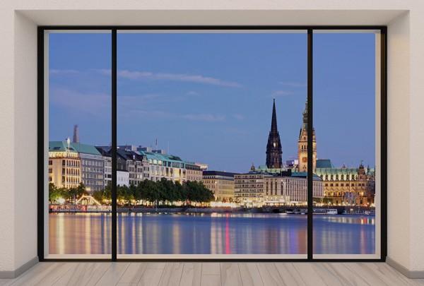 Fototapete Nr. 2994 - Penthouse Hamburg