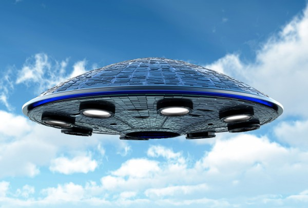 Fototapete Nr. 3136 - UFO