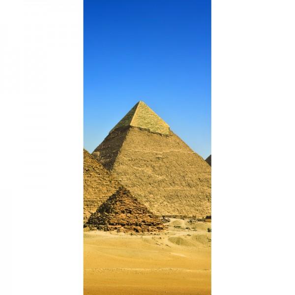 Türtapete Nr. 3318 - Königs-Pyramiden in Giza