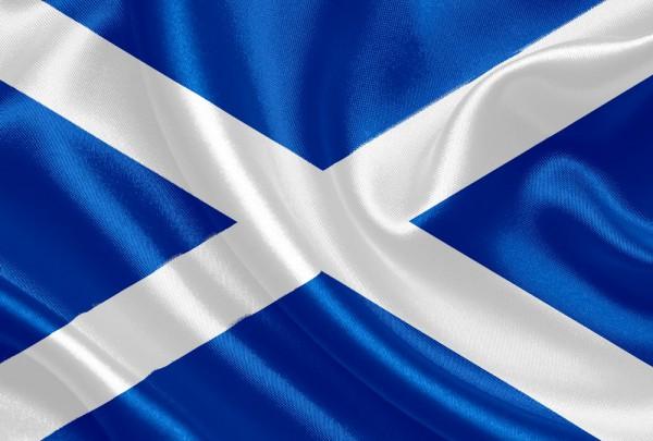 Fototapete Nr. 3157 - Flagge Schottland