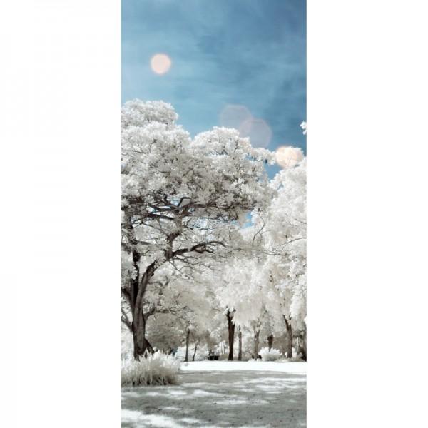Türtapete Nr. 3145 - Park infrarot