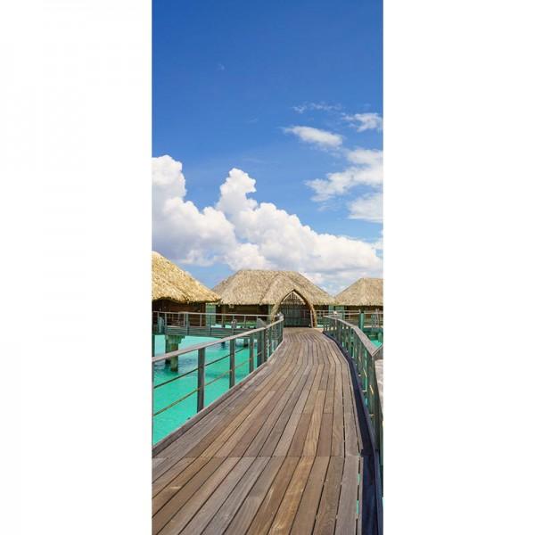 Türtapete Nr. 3010 - Bora Bora