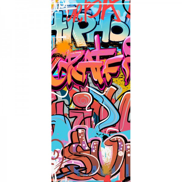 Türtapete Nr. 3496 - Graffiti Hiphop