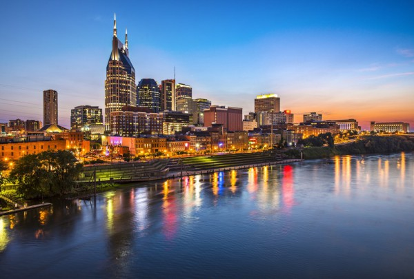 Fototapete Nr. 3442 - Nashville Nights