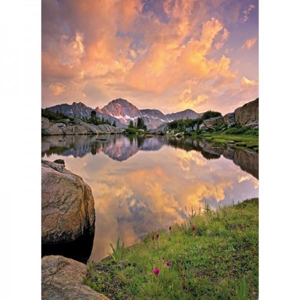 Fototapete Nr. 9760 - Glowing Mountains