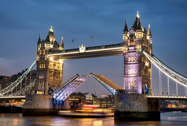 Fototapete Nr. 3109 - Tower Bridge Sunset