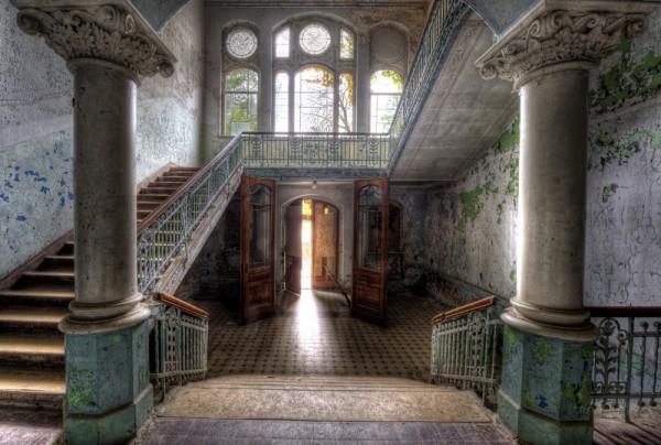 Fototapete Nr. 3830 - Villa Antique - Empfang