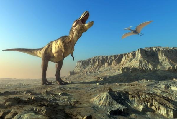 Fototapete Nr. 3692 - T-Rex in Alberta