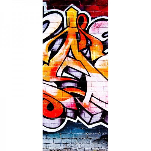 Türtapete Nr. 3483 - Graffiti Flames