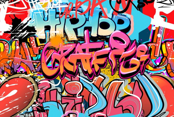 Fototapete Nr. 3496 - Graffiti Hiphop